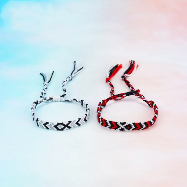 Simple Rope Matching Bracelets For Couples