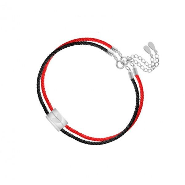 Matching Heart Fingerprint Bracelets For Couples