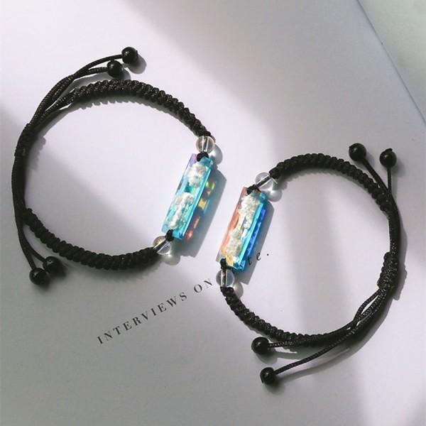 Sunrise And Sunset Matching Bracelets For Couples