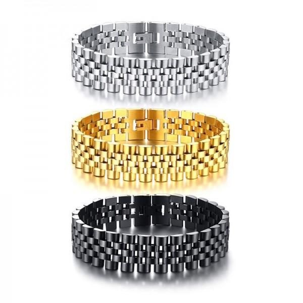 Unique Strap Bracelet For Men In Titanium