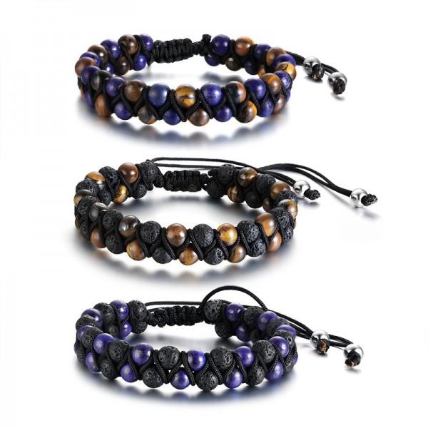 Unique Adjustable Beaded Bracelet For Men