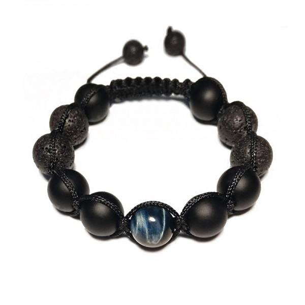 Unique Eagle Eye Beads Bracelet For Men