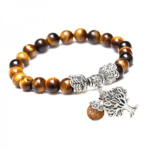 Unique Tree Of Life Beaded Bracelet For Women