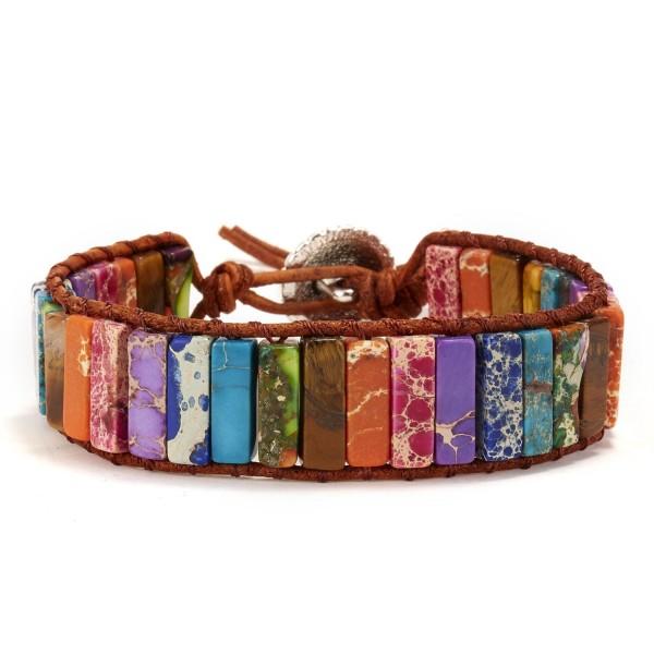 Unique Rainbow Stone Bracelet For Women
