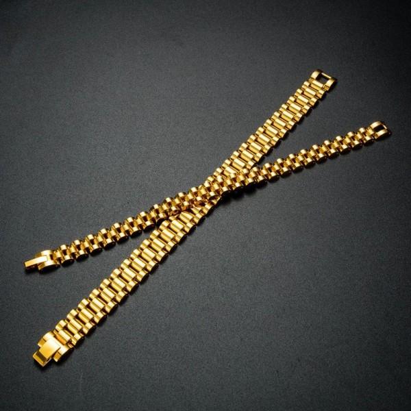 Unique Matching Strap Bracelets For Couples In Titanium