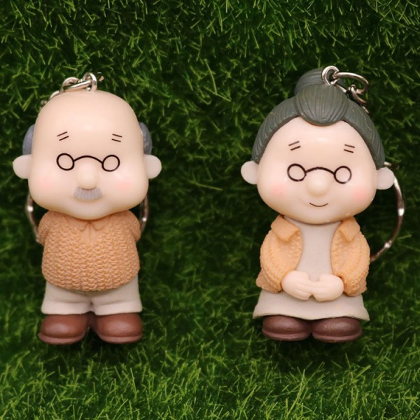 Cute Grandparents Keychains For Couples