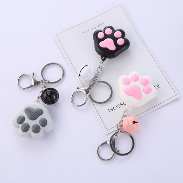 Cute Cat Paw Keychains For Couples