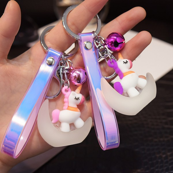 Cute PVC Unicorn keychains For Couples
