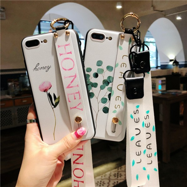 Honey And Leaves iPhone Cases For Couples In Silicone