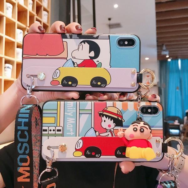 Chibi Maruko and Crayon Shinchan iPhone Cases In Silicone