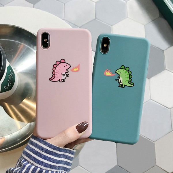 Cute Dragon iPhone Cases For Couples In TPU