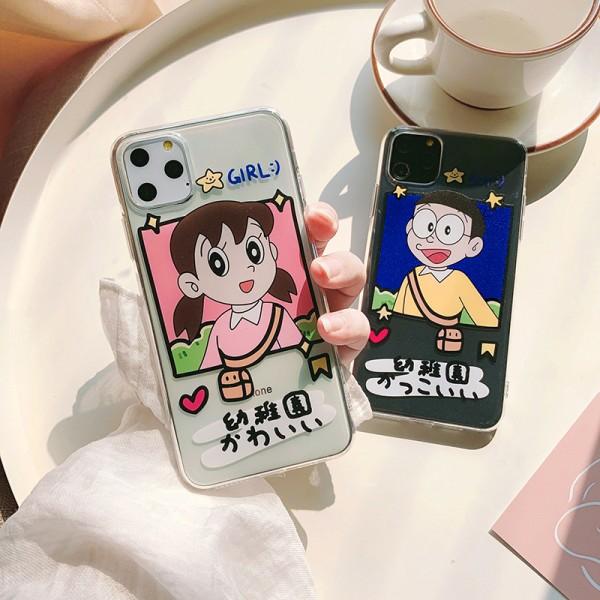 Nobita Nobi And Minamoto Shizuka iPhone Cases In TPU