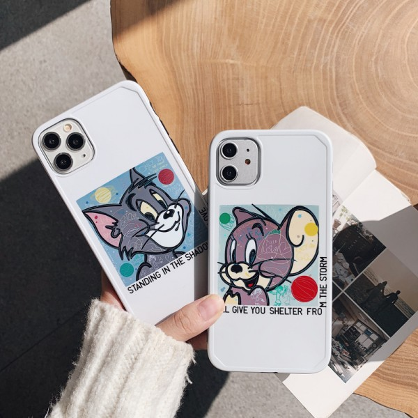 Cute Tom And Jerry Couple's iPhone Cases In TPU