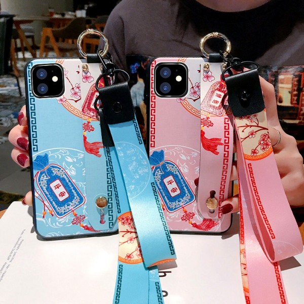 Chinese Blessing Bag iPhone Cases For Couples In TPU