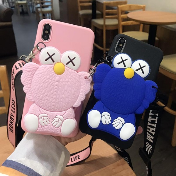 Elmo And Cookie Monster iPhone Cases With Wallet In TPU