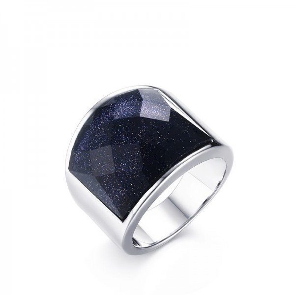 Engravable My Universe Wide Promise Ring For Men In Titanium